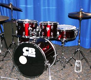 CD-Drum-Schlagzeug-Set